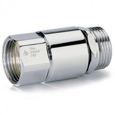 Обратный клапан с устройством вентиляции трубы