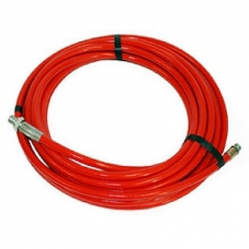 Шланг для чистки труб DN6 300 бар 11 м красный