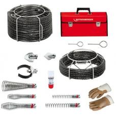 Набор спиралей и насадок для прочистки Standard 16 / 22 мм