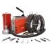 Электромеханическая машина для прочистки труб Voll V-Clean 150 с комплектом