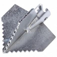 Зубчатая крестообразная насадка ø 16 x 55 мм