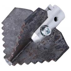 Зубчатая крестообразная насадка ø 22 x 75 мм