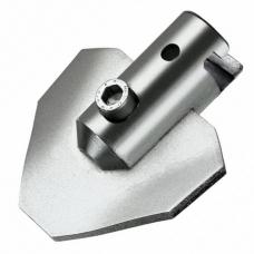 Изогнутый лопаточный скребок для спирали ø 32 мм