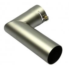Угловой адаптер, насаживается, Ø 50 мм, длина колен 160 х 100 мм LHS 41 / MISTRAL 6