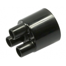 Переходник Ø 38 мм, 3 выхода, каждый 14 мм ROBUST