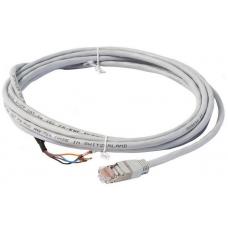 Контрольный кабель 3 м, на одном конце RJ45, другой конец неразделаный